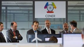 Foto de El ministro Pedro Duque visita las infraestructuras de I+D de CENER