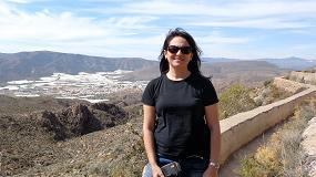 Foto de Entrevista a Mª Carmen Salas, Profesora del Departamento de Agronomía de la UAL