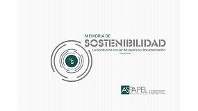 Foto de Aspapel presenta su V Memoria de Sostenibilidad del Papel