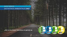 Foto de Ganvam lanza un nuevo servicio de entrega directa de distintivos ambientales de la DGT