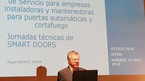 Foto de Jornada de Smart Doors en Veteco 2018