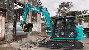 Foto de Una cuchara trituradora de MB Crusher participa en la remodelación de un ingenio azucarero histórico en Reunión
