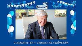 Foto de Casmar homenajea a Gonzalo Castro Mata en la celebración de su 40 aniversario