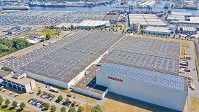 Foto de Techo solar colectivo en los Paises Bajos impulsado por Nissan