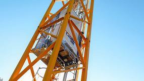Foto de Manitowoc lanza un innovador elevador para los operarios de las grúas torre Potain