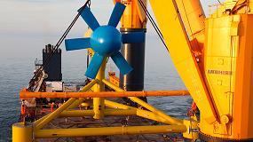 Foto de RealTide, proyecto europeo para reducir los costes de la energía mareomotriz
