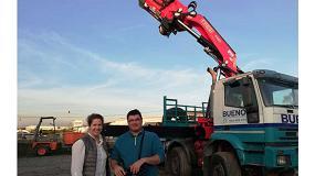 Foto de Transportes y Grúas Bueno adquiere su novena grúa Fassi