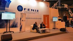 Foto de Ledvance renueva su acuerdo de colaboración con Fenie en el marco de Matelec 2018