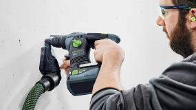 Foto de Trabajar sin cables y sin polvo con el sistema de 18 voltios de Festool