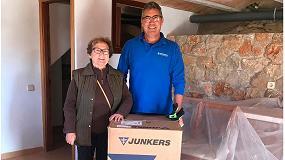 Foto de Junkers dona termos eléctricos a los afectados por las riadas de Mallorca