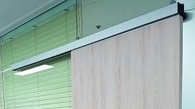 Foto de Motion4 innova con sus guías automáticas para puertas correderas