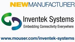 Foto de Mouser Electronics e Inventek Systems anuncian un acuerdo de distribución global