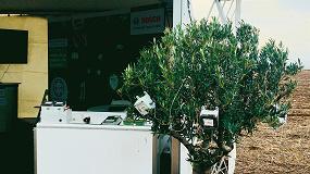 Foto de Bosch demuestra los beneficios de la gestión inteligente del riego en el olivar de regadío