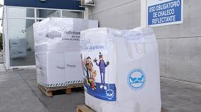 Foto de Palletways Iberia colabora con el Banco de Alimentos y la Asociación Betel