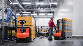 Foto de Toyota Material Handling presenta nuevas y versátiles transpaletas y apiladores de conductor a pie