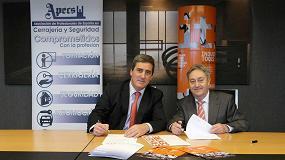Foto de BEC y Apecs firman un acuerdo para promocionar Industry Tools by Ferroforma en el sector cerrajero