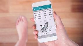 Foto de Optitalla, la App del IBV con la que el consumidor identifica la talla para cada marca de calzado