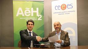 Foto de CEEES y la AeH2 colaborarán en la promoción del hidrógeno en el transporte