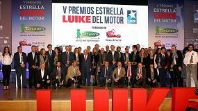 Foto de Motortec Automechanika Madrid 2019, escenario de la ceremonia de los V 'Premios Estrella Luike del Motor'