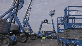 Foto de Nuevas soluciones de gestión de flotas con el sistema telemático Genie Lift Connect