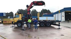 Foto de Palfinger entrega a Grúas Doniz la primera PK 135.002 TEC 7 de España
