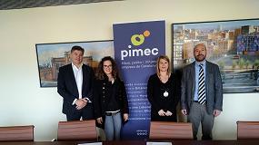 Foto de Pimec y TCR Protección firman un nuevo convenio con ventajas a micros, pequeñas y medianas empresas
