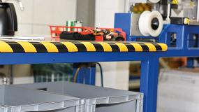Foto de La seguridad en los almacenes: elementos de protección de golpes y colisiones
