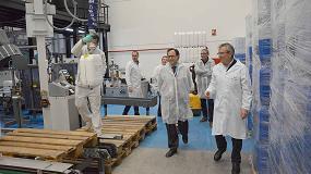 Foto de Vicent Soler visita las instalaciones de Betelgeux-Christeyns