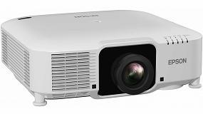Foto de Epson anuncia su nueva gama de proyectores láser de instalación 3LCD compactos y con lentes intercambiables