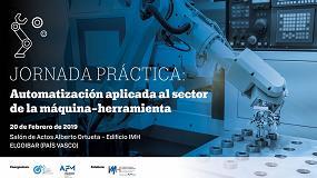 Foto de Elgoibar acoge una jornada práctica sobre automatización en el sector de la máquina-herramienta