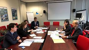 Foto de La Agenda navarra de la Economía Circular, en Bruselas