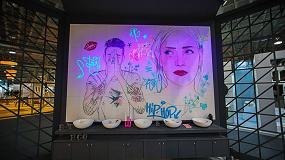 Foto de Lavabos y murales lumínicos de Bathco sorprenden en Cevisama 2019
