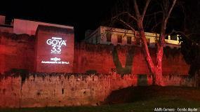 Foto de Los Ghibli de Ayrton iluminan Sevilla para la 33ª edición de los Goya