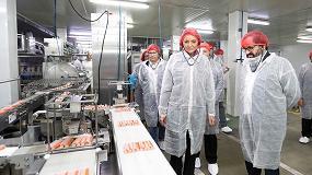 Foto de Nueva Pescanova recibe la visita de la ministra de Industria, Comercio y Turismo