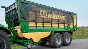 Foto de Krone introduce mejoras en los remolques de forraje ZX