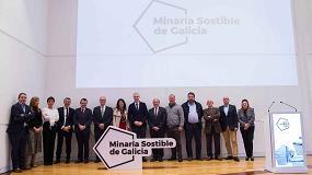Foto de El sector mineiro de Galicia presenta la marca 'Minaría sostenible de Galicia'
