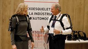 Foto de El uso de exoesqueletos en automoción puede reducir hasta en un 60% el esfuerzo muscular de los trabajadores