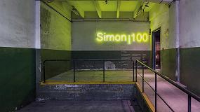 Foto de Simon presenta tres obras en el festival Llum BCN