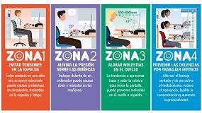 Foto de Cinco consejos para trabajar posturalmente de forma correcta en la oficina