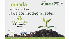 Foto de Andaltec organiza una jornada técnica sobre plásticos biodegradables patrocinda por Negri Bossi, Imvolca y Resinex