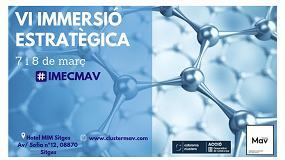El ClústerMav apuesta por las últimas tendencias en materiales avanzados en  su próxima Inmersión Estratégica ab75a51ac928