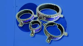 Foto de Collarín intumescente Nullifire FP170, mayor rango de diámetros con formato de entrega en cajas unitarias