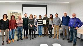 Foto de GBCe entrega el certificado Verde a un edificio semienterrado para los equipos de limpieza de Barcelona