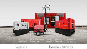 Foto de Himoinsa presenta en Bauma 2019 sus últimas novedades para el sector del alquiler
