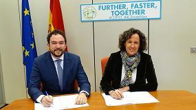 Foto de Anese y la Oficina Española de Cambio Climático renuevan su compromiso de reducción de más de 60.000 toneladas de CO2 en la Convocatoria de 2018