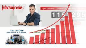 Foto de Espectacular aumento de la audiencia de Interempresas.net, que supera los 70 millones de páginas vistas