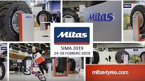 Foto de SIMA 2019: Mitas llega con nuevos neumáticos para distintos tipos de máquinas