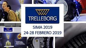 Foto de SIMA 2019: Trelleborg mejora la banda de rodadura del TM1000