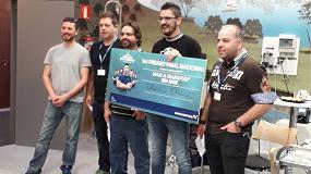 Foto de David Calvo, de Foncalor, gana el Campeonato Nacional de Instaladores de Grundfos