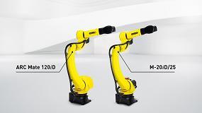 """Foto de Nuevos robots Fanuc M-20iD/25 y ARC Mate 120iD: """"Largo alcance y alta productividad"""""""